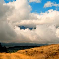 Ватно-молочные облака...