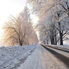 Снова зима