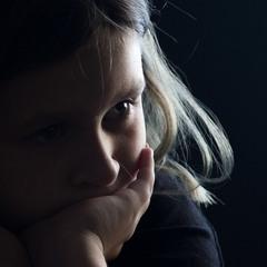 Детский портрет в контровом свете
