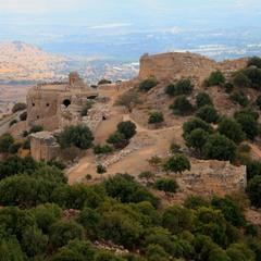 Крепость Нимрод. Западная часть.