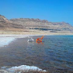 Мёртвое море.  Конец сезона.
