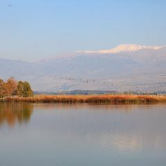 Озеро Хула.