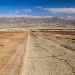 Дорога в Иорданию.