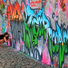 Стена Джона Леннона.