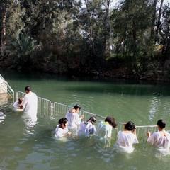 Река Иордан. Крещение.