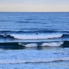 Сёрфинг.