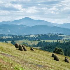 Карпат, красиві гори...Простори....