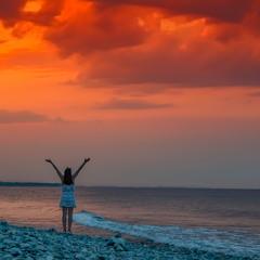 Греческий вечер у моря