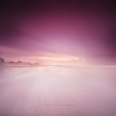 Зимний Вечер на берегу Северного моря
