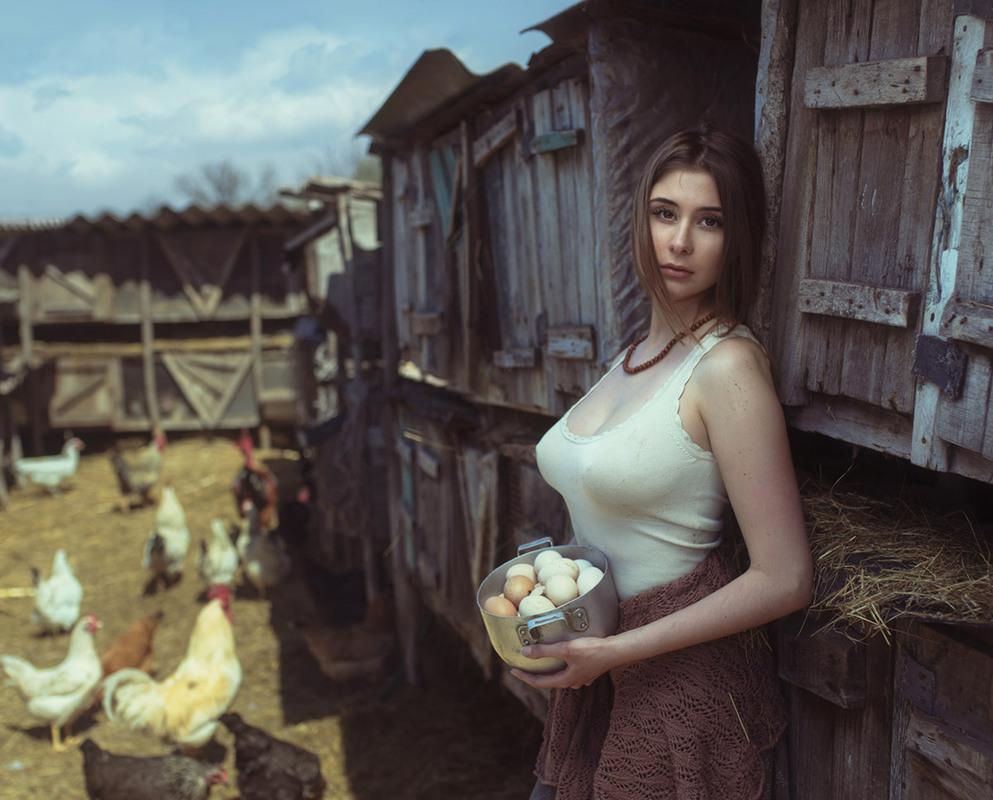 Любительские деревенские фото