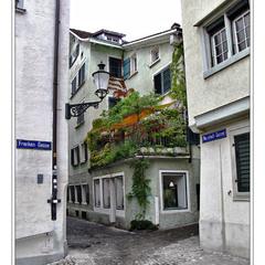 По улочкам Цюриха
