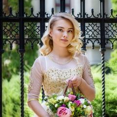 красивый портрет красивой девушки