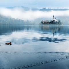 Озеро Блед, Словенія.