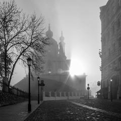 Утренний Киев