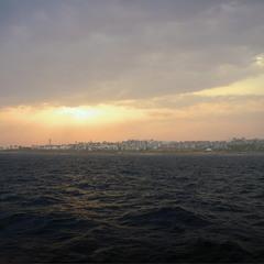 Непогода на закате