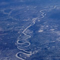 змея река