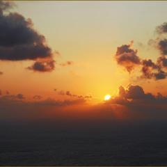 Закат над Нео-Хорио (Кипр)