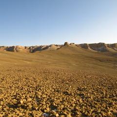 Нынешние берега Аральского моря.