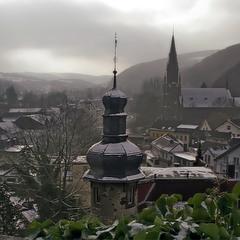 Городок среди гор