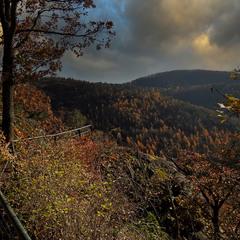 Вечер в горах Eifel