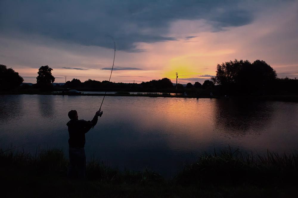 задние картинки рыбалки ночью интерьер для