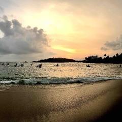 Рибалки на заході Сонця #4