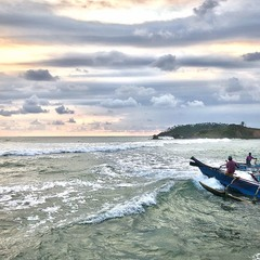 Рибалки на заході Сонця #2