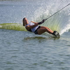 Водные лыжи, чемпионат мира в Днепре.