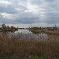 Весна на озере Курячем, Днепр