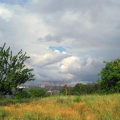Абрикосовое небо