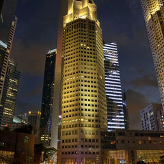 Сингапур. Ночь. Башня.