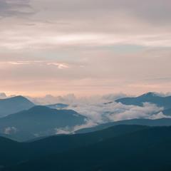 Carpathian sunrise