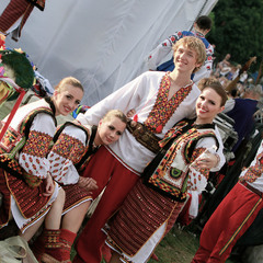 Международен фолклорен фестивал - София 2011 г. Народний танцювальний ансамбль «Горицвіт» імені Зен
