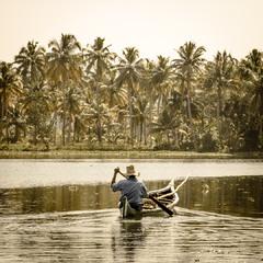 Back Waters. Kerala