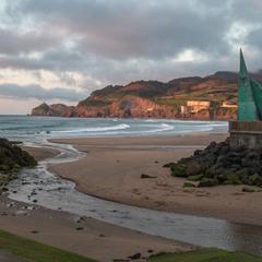 La Playa de Bakio.