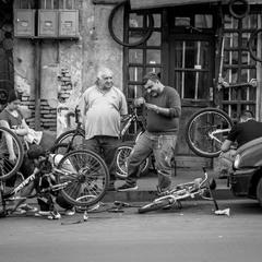 Bike Repear Shop. Tbilisi.