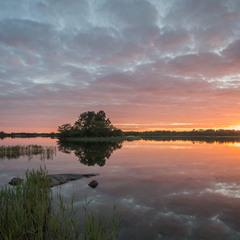 Sunset. Brändö. Åland