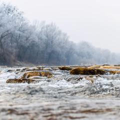 Холодный поток воды