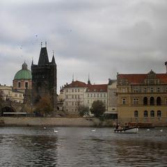 Пасмурный день в Праге