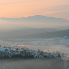 Схід Сонця над Ворохтою