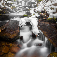 Зимний водопад