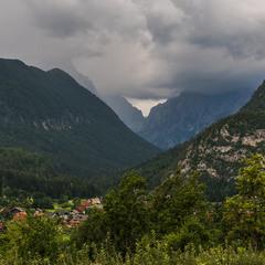 Містечко в гірському коридорі