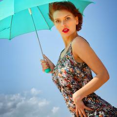 Про зеленый зонтик