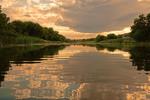 Теплий вечір, тиха вода...