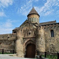 Georgia, Mtscheta,  Svetitskhoveli Cathedral