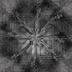 Метало-снежинка