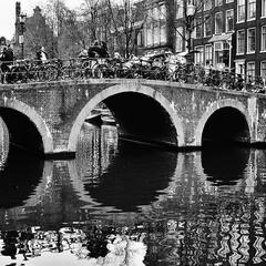 Парковка на мосту (Амстердам)
