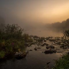 Рассвет на реке Случ