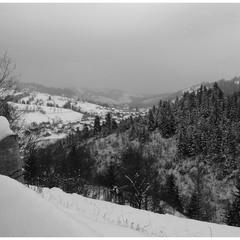 В горах зима не відступає