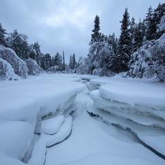 Снежный разлом